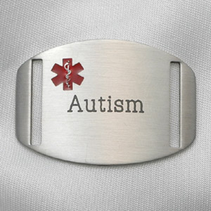 Autism Surgical Stainless Steel Medical ID